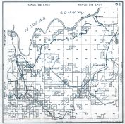 Sheet 52 - Township 10 and 9 S., Range 23 and 24 E. Auberry, Fresno County 1923